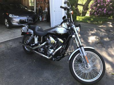 Harley wide glide Annv.