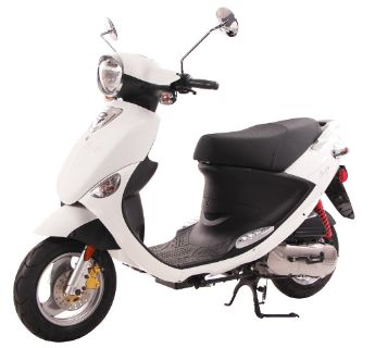 2019 Genuine Scooters Buddy 50 250 - 500cc Scooters North Mankato, MN
