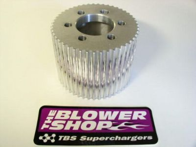 Purchase NEW CNC 43 TOOTH 8MM SUPERCHARGER DRIVE PULLEY THE BLOWER SHOP 8043 motorcycle in Lakeville, Minnesota, United States, for US $121.99