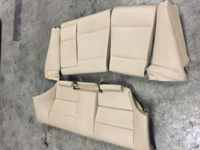 Purchase BMW E46 323Ci 325Ci 328Ci 330Ci M3 Coupe Rear TAN Leather Fold Down Seat OEM motorcycle in New Port Richey, Florida, United States, for US $244.99
