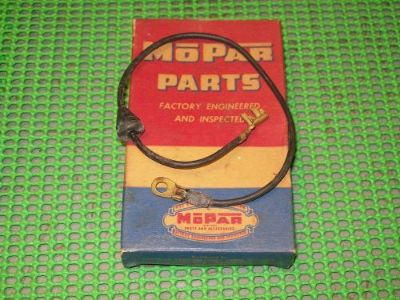 Buy 1957 58 59 Plymouth Dodge Desoto Chrysler V8 NOS MoPar DISTIBUTOR LEAD WIRE motorcycle in Fairmount, Georgia, United States, for US $24.95