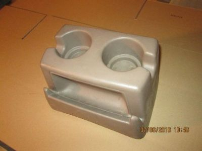 Purchase 1992 1993 1994 1995 1996 1997 F150 F250 F350 BENCH SEAT CUP HOLDER OEM TAN motorcycle in Saint Clair Shores, Michigan, United States
