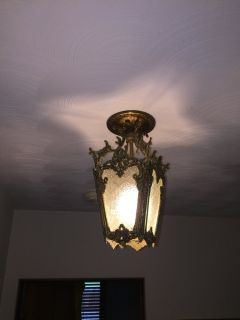 Antique ceiling lights (2)