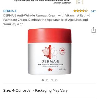 DERMA-E Anti wrinkle renewal cream