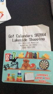 Go! Games (Lakeside Mall) $8.55 Gift Card