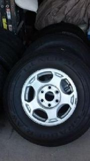 $500 Avalanche Tires and rims w/lug nuts