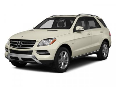 2014 Mercedes-Benz M-Class ML350 4MATIC (Light Blue)