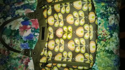changing bag pickle bottom great condition