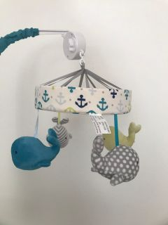 Whale Mobile for Baby
