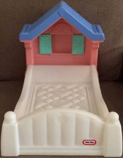 Little Tikes Storybook Cottage Doll Bed Fits American Girl Dolls