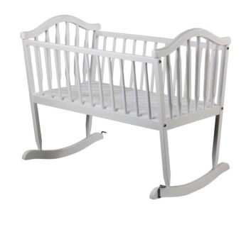 White Cradle Dream on Me brand solid wood