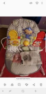 new fisher price baby bouncer