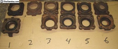 Rear Axle Bearing Retainers