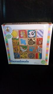 New / Garanimals 16 Piece Wood Blocks