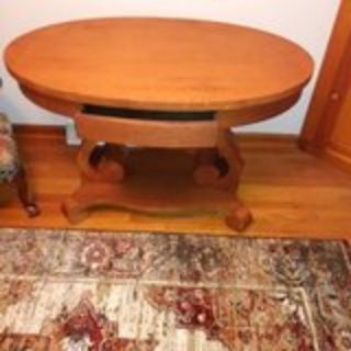 Unique Oval Shaped Table
