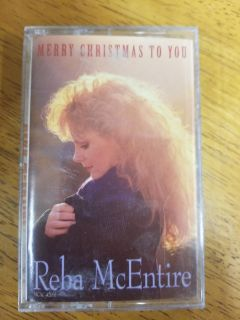 """Reba McEntire """"Merry Christmas to You"""" cassettr"""