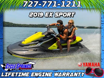 2019 Yamaha EX Sport 3 Person Watercraft Clearwater, FL