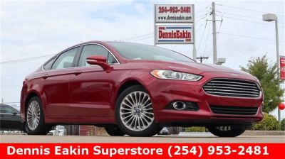 2014 Ford Fusion Titanium (Ruby Red Metallic Tinted Clearcoat)