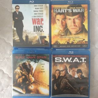 BlueRay: War/Police Lot (4)