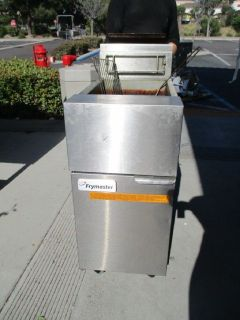 Frymaster GF14SC Propane Fryer, 40 Lbs RTR#8051519-06