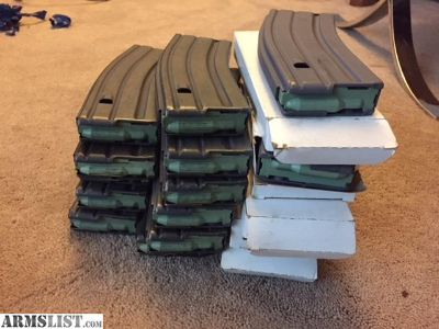 For Sale: Military issued M16/M4/Ar15 30 round magazines