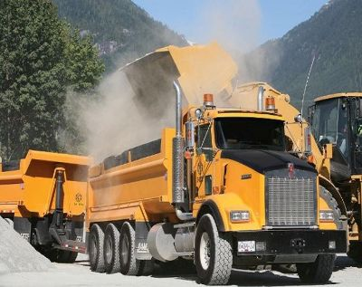 Dump truck - Equipment financing for all credit types