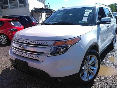 2015 Ford Explorer Limited (White Platinum Metallic Tri-Coat)