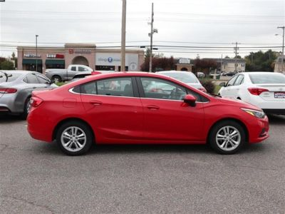 2018 Chevrolet Cruze 4dr Sdn 1.4L LT w/1SD (Red)