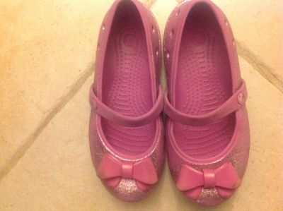 Crocs with bow 12