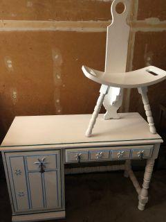 Desk w/ Matching Chair