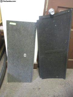 CARPET PIECES- REAR SEAT LEDGE