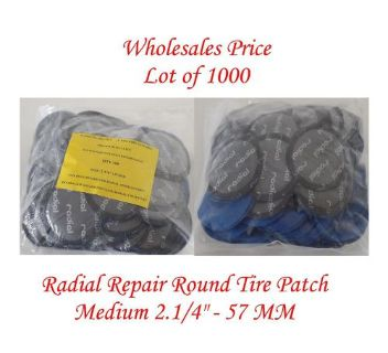 """Sell 1000 Pieces Radial Repair Round Tire Patch Medium 2.1/4""""-57 MM Superior Quality motorcycle in Glendora, California, United States, for US $169.00"""