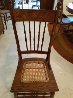 Another cane chair