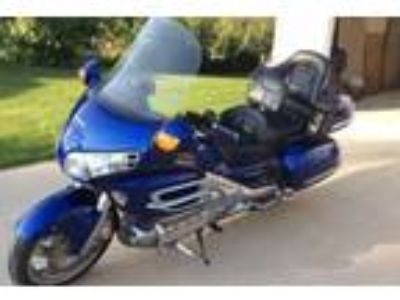 2001 Honda Goldwing 1800 Blue