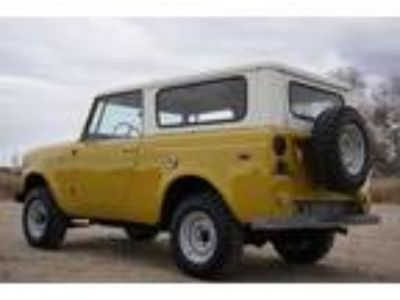 1971 International Harvester Scout Factory 304 V8 4 speed