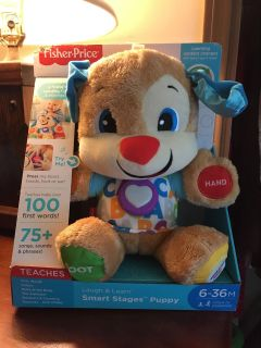Fisher price smart stages puppy (6-36 months)