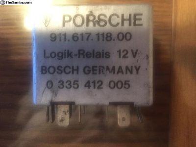 Porsche 911 Door Buzzer and Seat Belt Relay