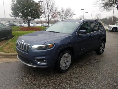 2019 Jeep Cherokee Limited (Blue Shade Pearl Coat)