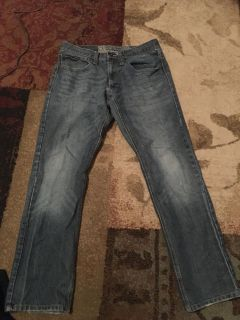 Op 32 x 32 slim straight jeans - ppu (near old chemstrand & 29) or PU @ the Marcus Pointe Thrift Store (on W st)
