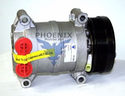 Buy New Compressor w/Clutch HT6 6G Fits:Chev C1500 C2500 C3500 1996-2002 (600-62151) motorcycle in Carrollton, Texas, United States, for US $140.00