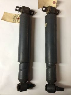 Buy NOS 1967 IMPALA HEAVY DUTY SPIRAL SHOCKS 3192454 396 427 Z24 CHEVY BISCAYNE 67 motorcycle in Union Grove, Wisconsin, United States, for US $427.67