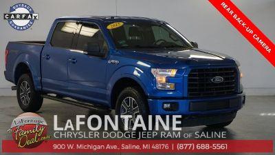 2015 Ford F-150 (Blue)