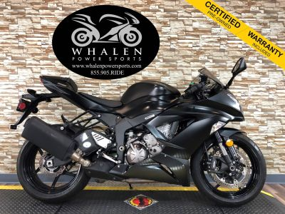 2015 Kawasaki Ninja ZX -6R ABS SuperSport Motorcycles Port Charlotte, FL