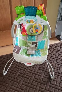 Fisher Price Rainforest Deluxe Bouncer