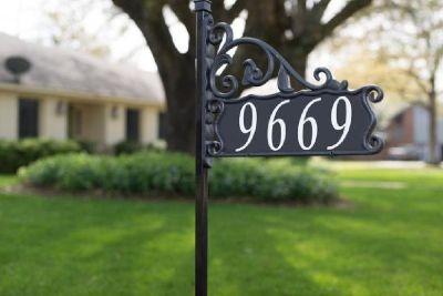 Yard Address Signs | Address America