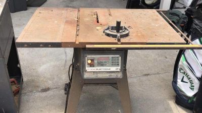 Craftsman Electronic Table Saw w/ mobile stand.