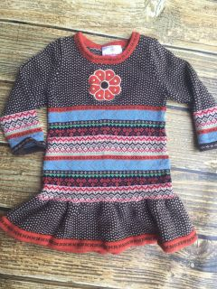 Hanna Andersson Sweater Dress size 80