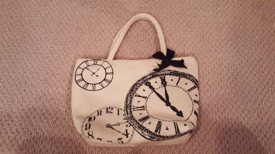 Clocks Insulated Lunch Bag Tote