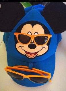 Mickey Mouse Hat & Sunglasses