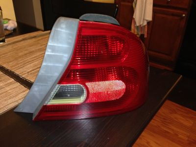 2002 Honda Civic coupe tail light